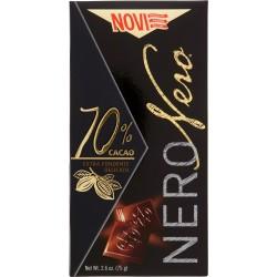 Novi NeroNero 70% Cacao Extra Fondente Delicato 75 gr.