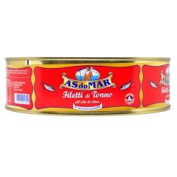 Asdomar filetti di tonno in olio di oliva kg.1,8