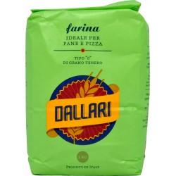 Dallari farina di grano tenero 0 verde kg.1