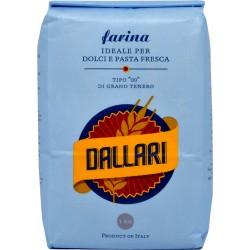 Dallari farina di grano tenero 00 blu kg.1