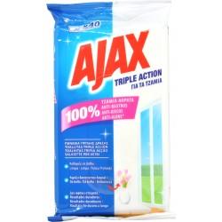 Ajax salviettine tripla azione pz.40
