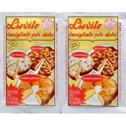 Arpa lievito vanigliato 2 buste da gr.15