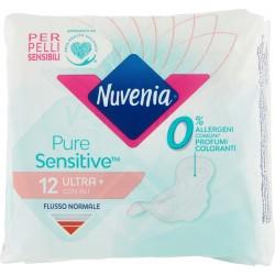 Nuvenia Pure Sensitive Ultra+ con ali 12 pz