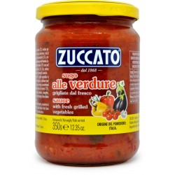 Zuccato sugo con verdure grigliate gr.370