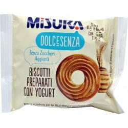 Misura frollini dolcesenza con yogurt gr.13,3 confezione da pz.140
