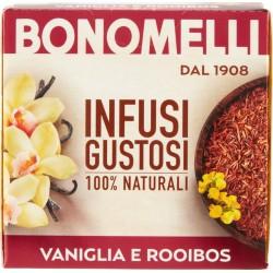 Bonomelli Infusi Speziali 100% Naturali Rooibos e Vaniglia 10 Filtri 20 gr.
