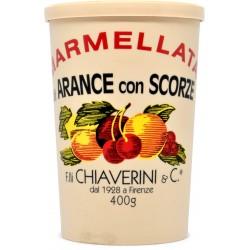 F.lli Chiaverini & C Marmellata Arance con Scorze 400 gr.