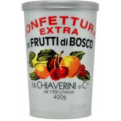 Chiaverini confettura extra ai frutti di bosco gr.400