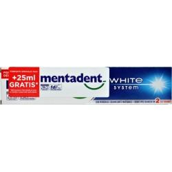 Mentadent P White System 75+25 ml.