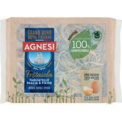Agnesi Festaiola Tagliatelle Paglia & Fieno 250 gr. confezione compostabile