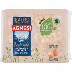 Agnesi Festaiola Pappardelle all'Uovo 250 gr. confezione compostabile