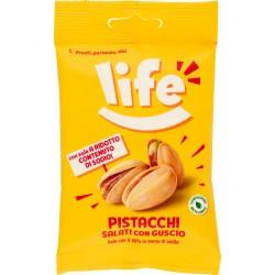 Life Pistacchi Salati con Guscio 25 gr.