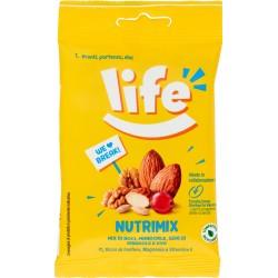 Life Nutrimix Mix di Noci, Mandorle, Semi di Girasole e Uva 30 gr.
