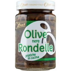 Citres Olive nere Rondelle 290 gr.