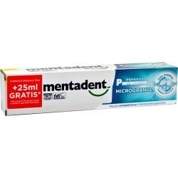 Mentadent dentifricio con microgranuli 75+25 ml.