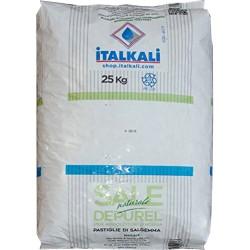Italkali sale naturale in pastiglie kg.25