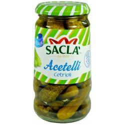 Sacla cetrioli aceto - gr.290