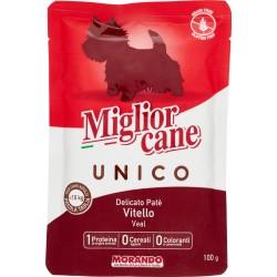 Migliorcane Unico Delicato Patè Vitello 100 gr.