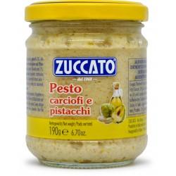 Zuccato pesto con carciofi e pistacchi gr.190
