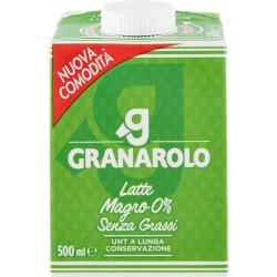 Granarolo Latte Magro 0% Senza Grassi UHT Lunga Conservazione 500 ml.