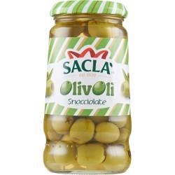 Saclà OlivOlì Snocciolate verdi 290 gr.