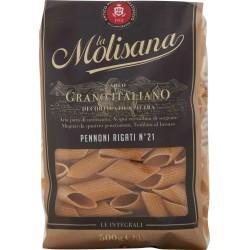 La Molisana pasta integrale n.21 Pennoni Rigati 500 gr.