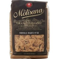 La Molisana pasta integrale n. 66 Farfalle Rigate 500 gr.