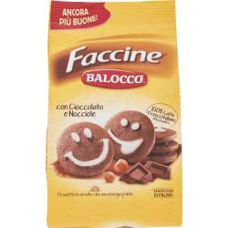Balocco biscotti faccine gr.350