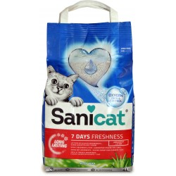 Sanicat lettiera 7g aloe v.freshness lt.4
