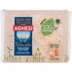 Agnesi Festaiola Tagliatelle all'Uovo 250 gr. confezione compostabile