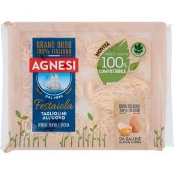 Agnesi Festaiola Tagliolini all'Uovo 250 gr. confezione compostabile