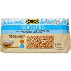 Crich crackers con riso soffiato gr.240