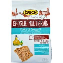 Crich sfoglie multigrain con olio extra vergine di oliva gr.150