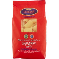 Rigorosa di Gragnano Pasta di Gragnano I.G.P. Paccheri 500 gr.