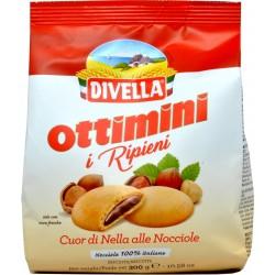 Divella biscotti Ottimini i Ripieni alle Nocciole 300 gr.