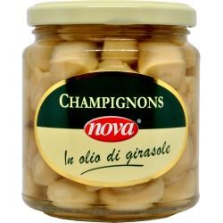 Nova funghi champignon interi olio gr.280
