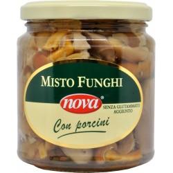 Nova misto funghi con porcini in olio gr.290