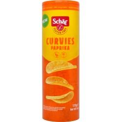 Schär Chips Curvies Paprika senza glutine 170 gr.