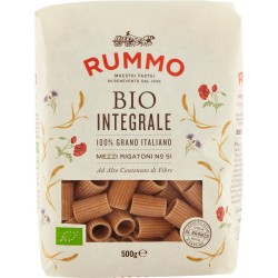 Rummo pasta Bio Integrale Mezzi Rigatoni N° 51 500 gr.