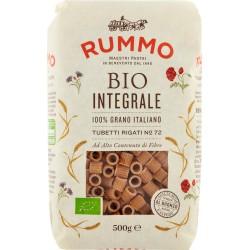 Rummo pasta Bio Integrale Tubetti Rigati N° 72 500 gr.