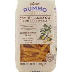 Rummo Ceci di Toscana e Riso Integrale Penne Rigate N° 66 300 gr.