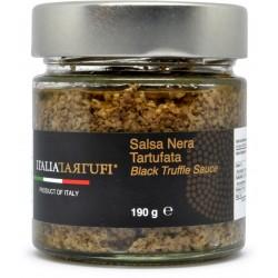 Italiatartufi salsa nera tartufata 190 gr.