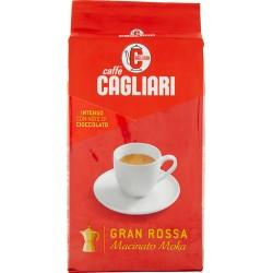 Cagliari caffè gran rossa macinato per moka gr.250