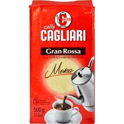 Cagliari caffè gran rossa macinato per moka gr.500