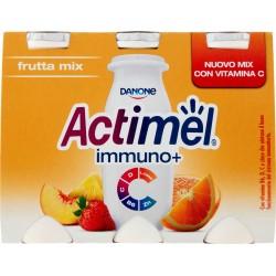Actimel immuno + frutta mix vitamina gr.100x6