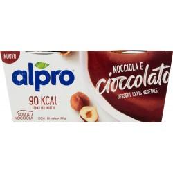 Alpro Nocciola e Cioccolato Dessert 100% Vegetale 2 x 113 g