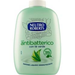 Neutro Roberts con antibatterico con tè verde Sapone Liquido Dermotestato 200 ml.