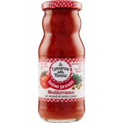 Le conserve della nonna Salsa pronta Mediterranea 350 gr.