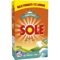 Sole Bianco Splendente con Bicarbonato 7,0 Kg 112 lavaggi