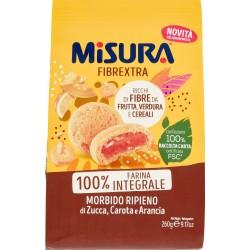 Misura Fibrextra Morbido Ripieno di Zucca, Carota e Arancia 260 gr.